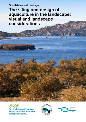 The siting and design of aquaculture in the landscape: visual and ...