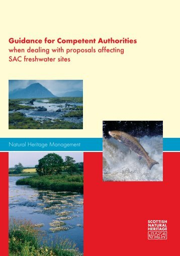 Guidance for Competent Authorities when dealing with proposals ...