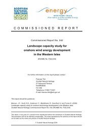 Landscape capacity study for onshore wind energy development in ...