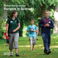 Rangers in Scotland - as published - Scottish Natural Heritage
