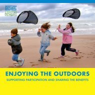 Enjoying the Outdoors - Scottish Natural Heritage