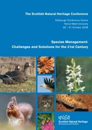 Species Management: Challenges and Solutions for the 21st Century