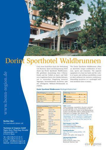 Hotel Dorint Sporthotel (05) - Bonn Region