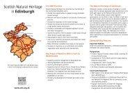 Scottish Natural Heritage in Edinburgh