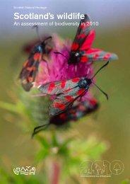 Scotland's Wildlife – an assessment of biodiversity in 20