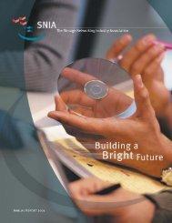 SNIA 2001 Annual Report