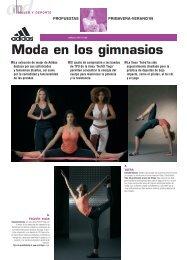 Moda en los gimnasios - CMD Sport
