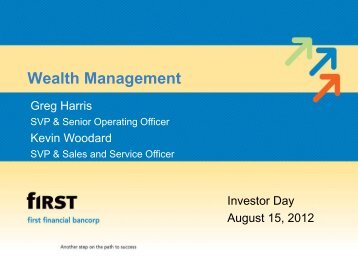 Investor Day 2012 Wealth Management - SNL Financial