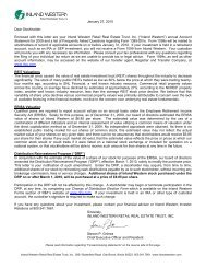 January 2010 Annual Statement/ERISA Value/DRP ... - SNL Financial