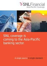 Download brochure - SNL Financial