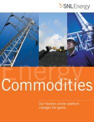 Download a PDF of our Energy Commodities Data brochure