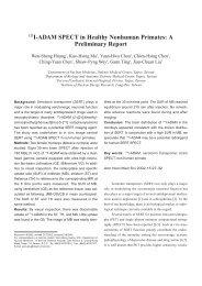 123I-ADAM SPECT in Healthy Nonhuman Primates: A Preliminary ...