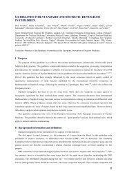 Guidelines for standard and diuretic renogram in - European ...