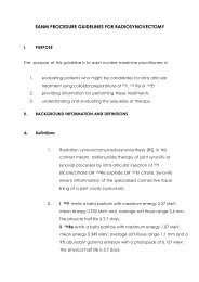 EANM Procedure Guidelines for Radiosynovectomy
