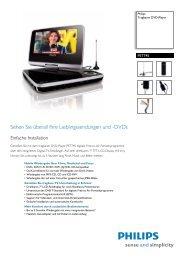 Leaflet PET745_12 Released Switzerland (German) High ... - Snogard