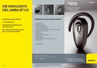 DIE HIGHLIGHTS DES JABRA BT125 - Snogard