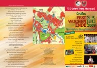 E.ON edis CITY-Tour 2009 - 750 Jahre Stadt Burg Stargard