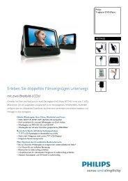 PET7432/12 Philips Tragbarer DVD-Player - Snogard