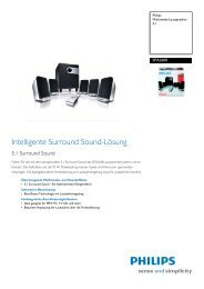SPA2600/00 Philips Multimedia-Lautsprecher 5.1 - Snogard