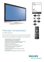 42PFL5322/10 Philips Breitbild-Flat TV mit PIXEL PLUS HD - Snogard