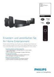 HTR3464/12 Philips Digital AV Receiver-System - Snogard