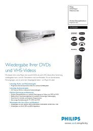 DVP3350V/02 Philips DVD-Player/Videorecorder - Snogard