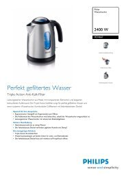 HD4667/20 Philips Wasserkocher - Snogard