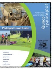 Group Tour & Package Travel Guide - Snohomish County Tourism ...
