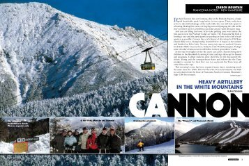 heavy artillery in the white mountains ca nnon - Snow East Magazine