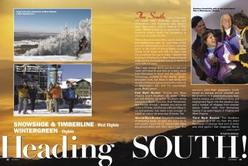 Southern Hospitality Adds To The Great Times! - Snow East Magazine