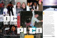 THE PI CO VERMONT - Snow East Magazine