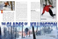 Killington Glades VT - Snow East Magazine