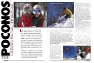 Pocono's 2008 - Snow East Magazine