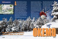 Okemo's development - Snow East Magazine