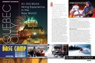 Quebec City - Snow East Magazine