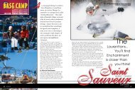 Saint-Sauveur - Snow East Magazine