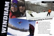 Windham - Snow East Magazine