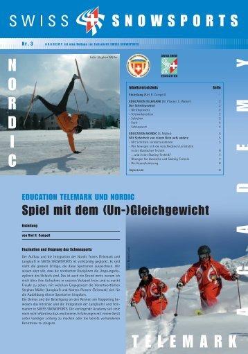 Education Telemark und Nordic - Swiss Snowsports