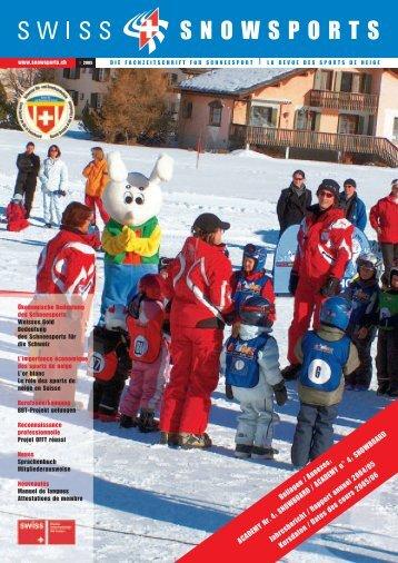 Bedeutung des Schneesports für die Schweiz + ... - Swiss Snowsports