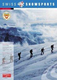 Risikomanagement will gelernt sein. Grenzen ... - Swiss Snowsports
