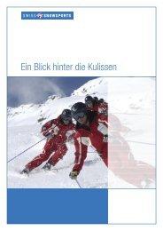 Ein Blick hinter die Kulissen - Swiss Snowsports