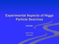Experimental Aspects of Higgs Particle Searches