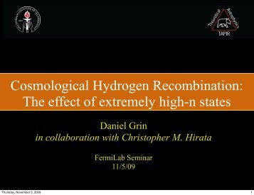 Cosmological Hydrogen Recombination: The effect of extremely ...