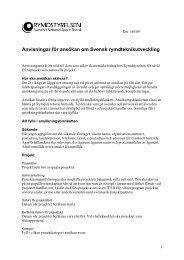Anvisningar pdf-fil - Rymdstyrelsen