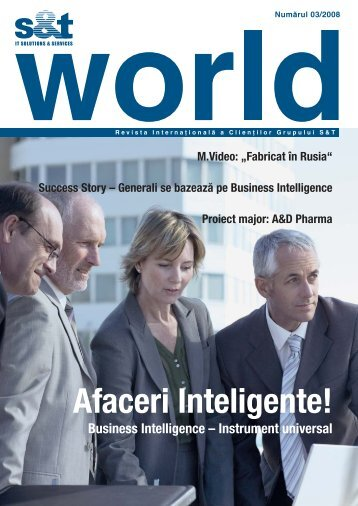 Afaceri Inteligente! - S&T