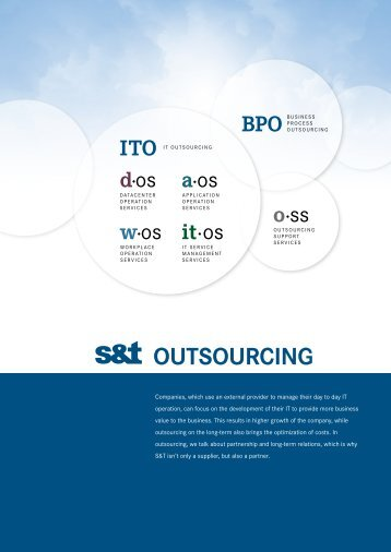 OutsOurcing - S&T