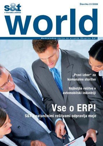 Vse o ERP! - S&T Slovenija d.d.