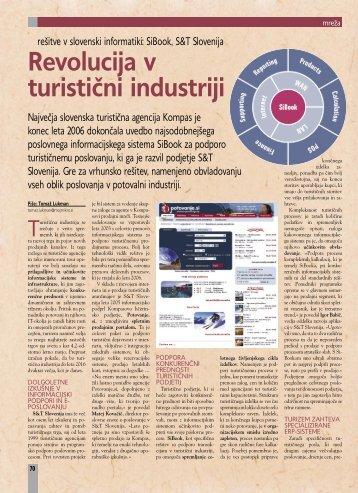 Revolucija v turistični industriji - S&T Slovenija d.d.