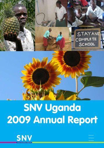 SNV Uganda 2009 Annual Report