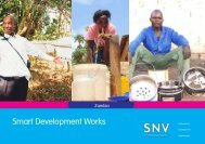 Smart Development Works - SNV